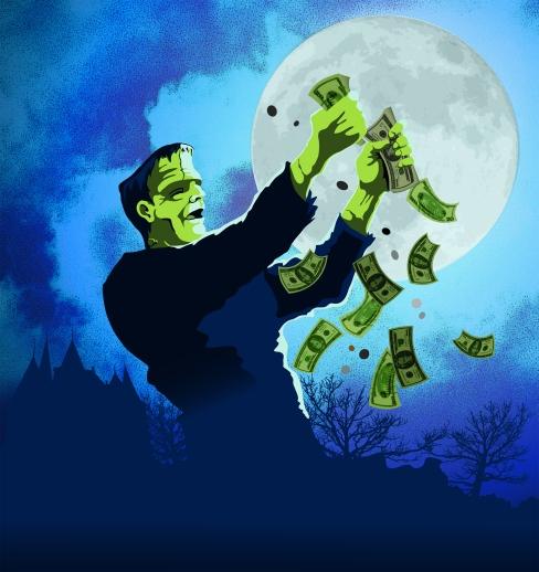 Monster Profit Poster extra art